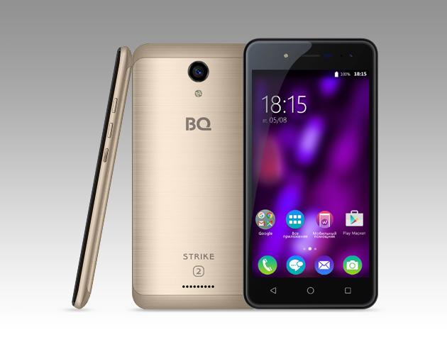 BQ представила новые смартфоны BQ-5057 Strike 2 и BQ-5059 Strike Power