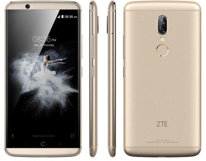 ZTE анонсировала новейшую версию флагманского телефона Axon 7s