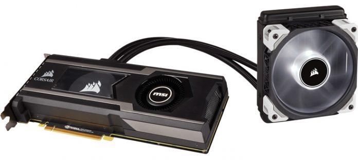 Corsair Hydro GFX GTX 1080 Ti — видеокарта с воздушной и жидкостной системами охлаждения