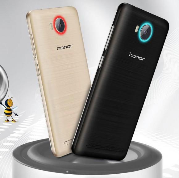 Honor Bee 2 – бюджетный смартфон с необычной круговой подсветкой