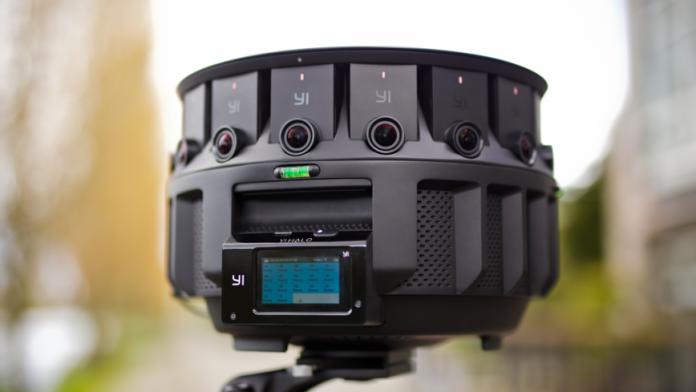Google анонсировала профессиональную установку для сферической съемки YI HALO