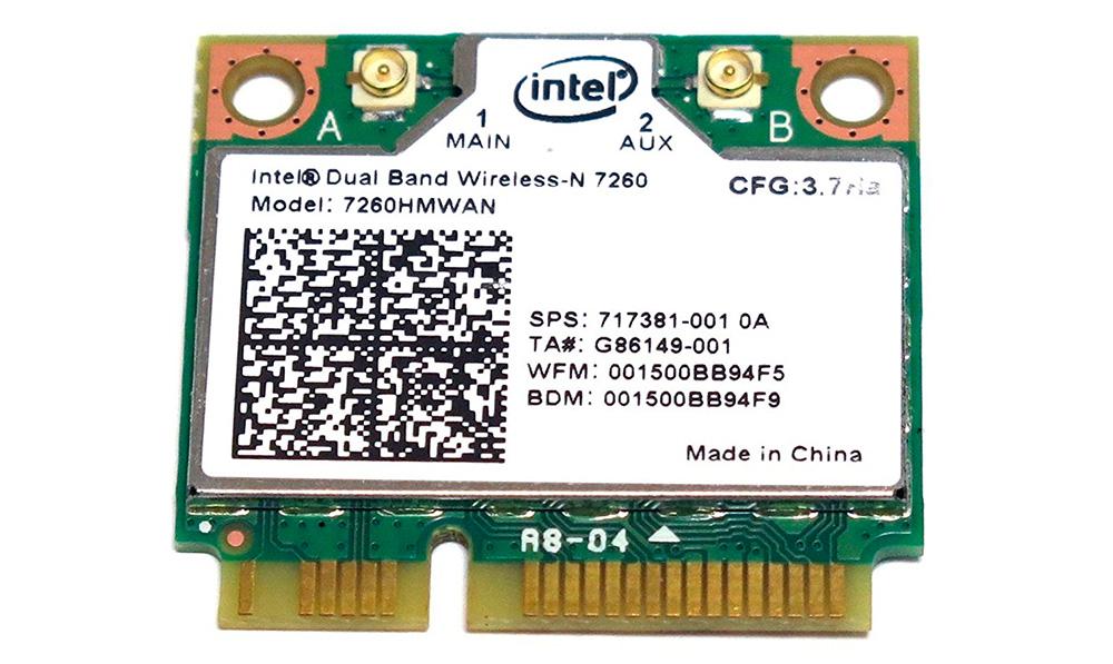 Модуль Wi-Fi для ноутбуков (Intel 7260HMWAN)