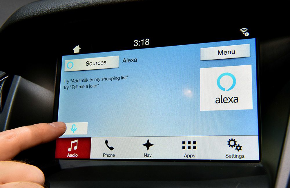 Ford SYNC 3 & Amazon Alexa