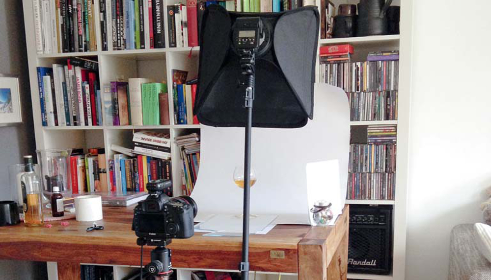 Как снять рекламное фото в домашних условиях