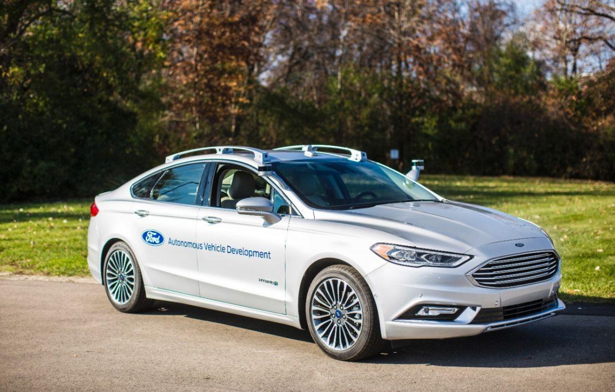 Ford Fusion c ИИ