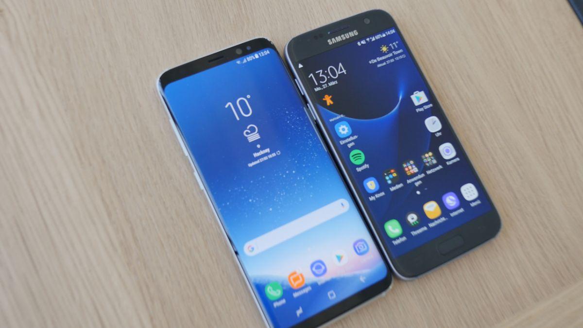 Galaxy S8 против Galaxy S7: стоит ли переходить на новую модель?