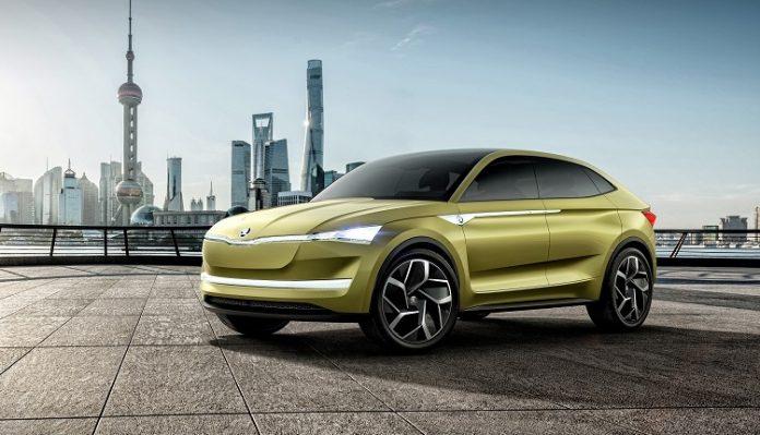 Skoda анонсировала электрический концепт-кар Vision E
