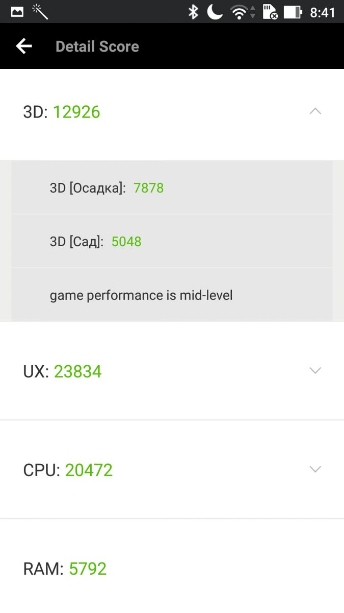 ASUS ZenFone 3 Zoom - AnTuTu Benchmark