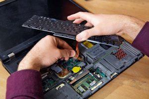 снятие клавиатуры