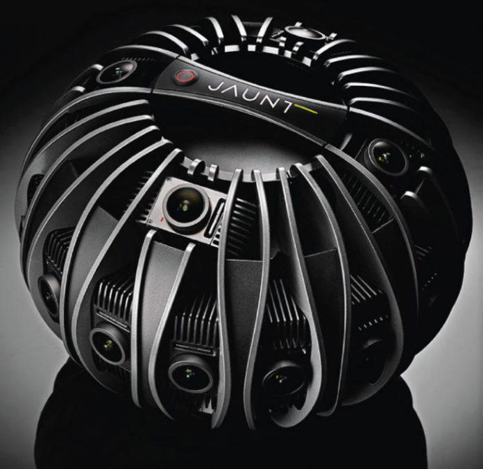 Jaunt One — профессиональная VR-камера с 24 фотомодулями
