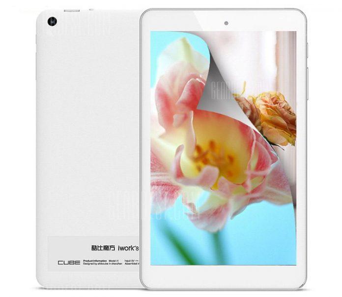 Cube выпустит планшет iWork8 Air Pro, оснащенный двумя операционными системами