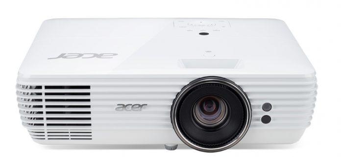 Acer представила новые проекторы H7850 и V7850