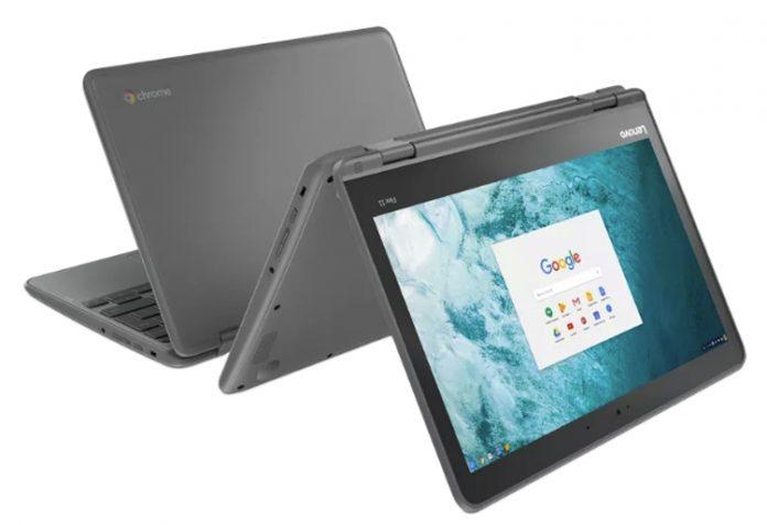 Lenovo анонсировала гибридный хромбук Flex 11