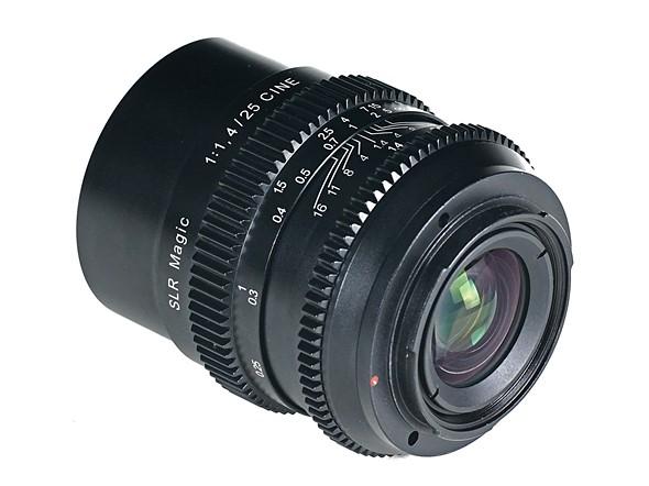 SLR Magic выпустила полнокадровый объектив Cine 25mm F1.4