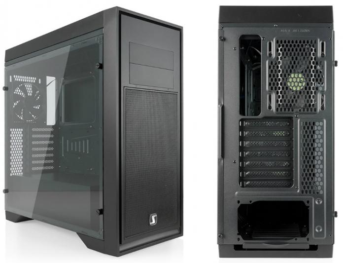 Aquarius X70T Pure Black – новый корпус от Silentium PC