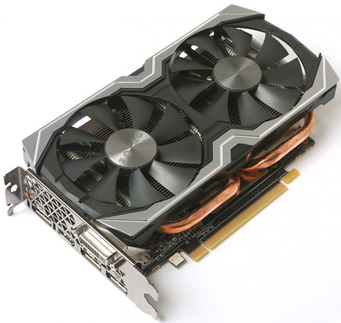 ZOTAC анонсировала видеокарту GeForce GTX 1060 6GB AMP+