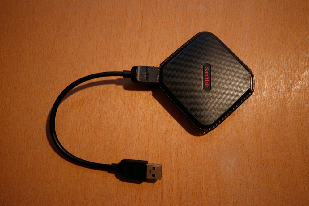SanDisk Extreme 500 Portable SSD 240GB