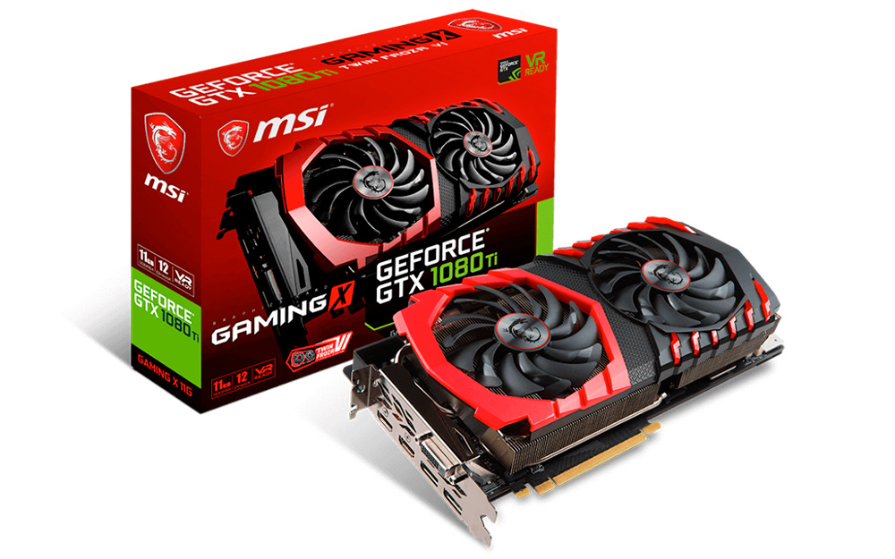 MSI GeForce GTX 1080 Ti Gaming X 11G 11GB GDDR5X