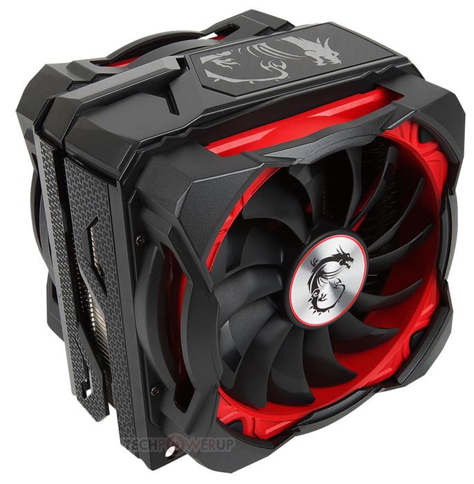 MSI выпустила процессорный охладитель с двумя вентиляторами Core Frozr XL