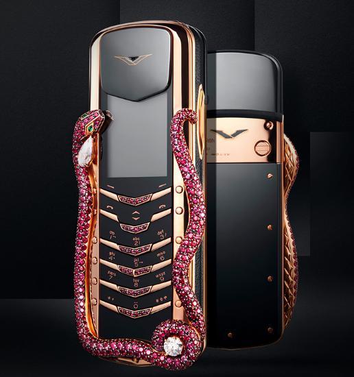 Vertu представила мобильный телефон за $360 000