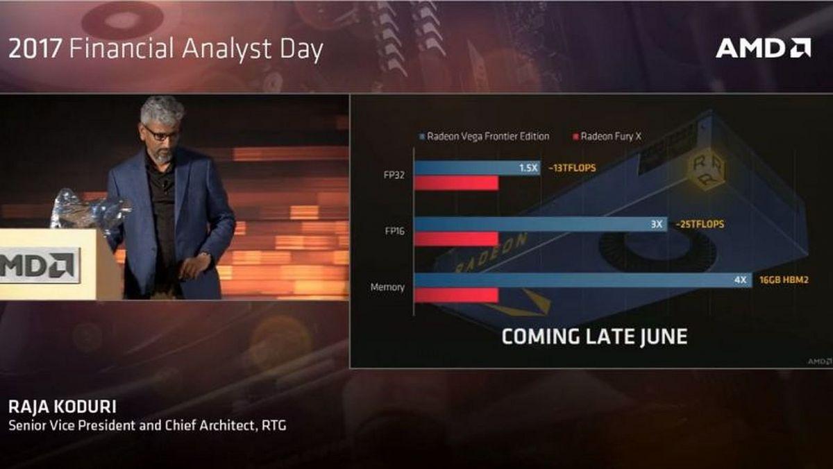 Новая видеокарта от AMD Vega Frontier Edition выйдет в конце июня