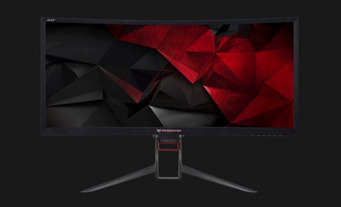 Acer представила изогнутый монитор Z35P