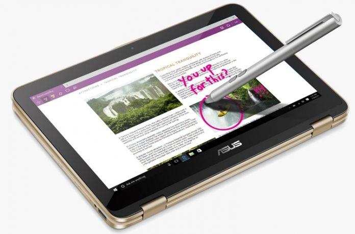 ASUS анонсировала ноутбук-трансформер VivoBook Flip 12
