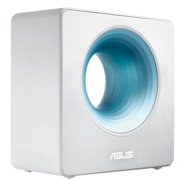 Asus анонсировала «дизайнерский» маршрутизатор Blue Cave