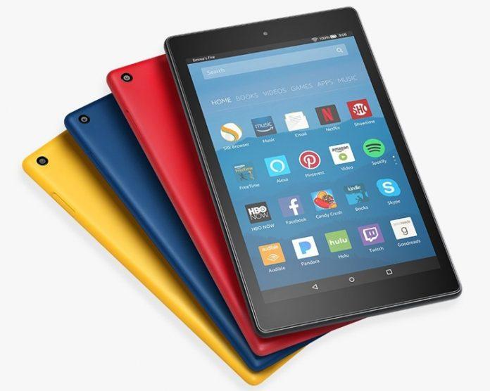 Amazon представила новые планшеты Fire 7 и Fire HD 8