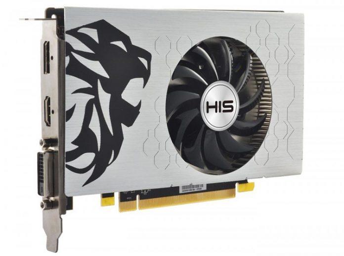 HIS представила видеокарту Radeon RX 550 Green iCooler Slim