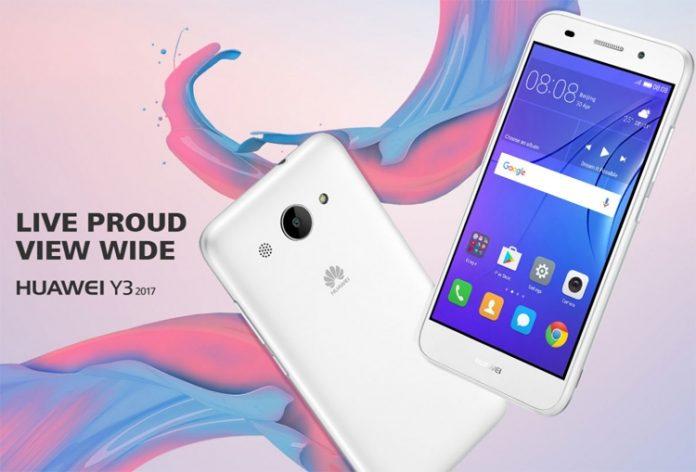 Huawei анонсировала смартфон Y3 2017