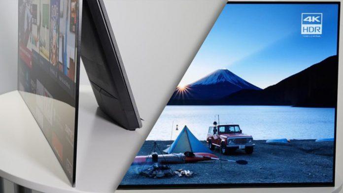 Тест телевизора Sony KD-55A1: четкий, уникальный, инновационный