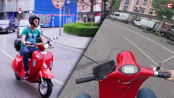 Тест электро-Vespa: на что способен скутер emco