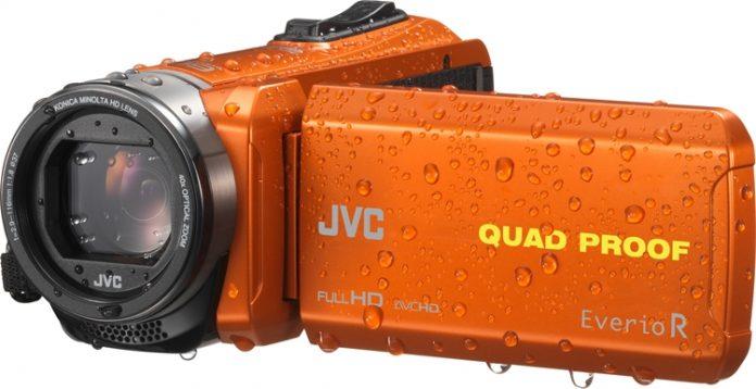 JVC представила всепогодные видеокамеры GZ-R550 и GZ-R440