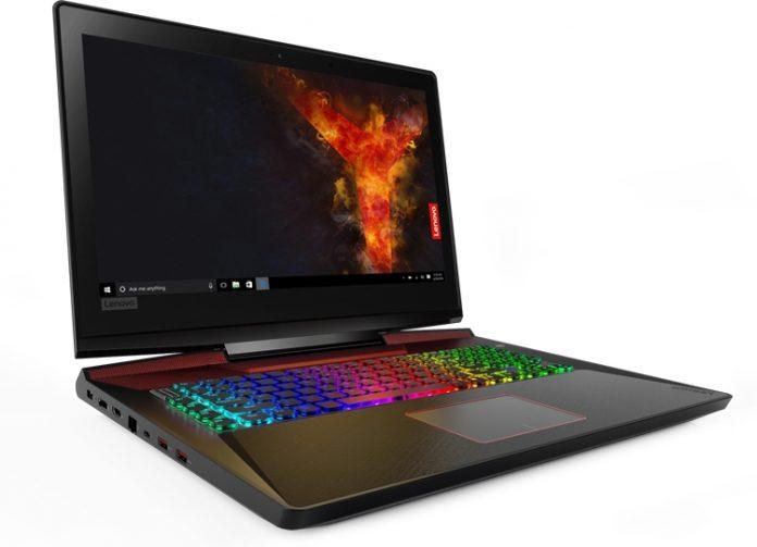 Lenovo анонсировала геймерский ноутбук Legion Y920