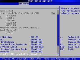 BIOS Setup