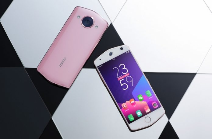 Meitu представила новый смартфон M8