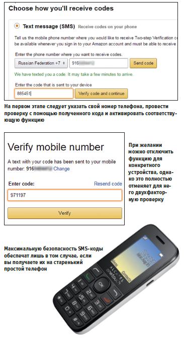 Пароль по SMS