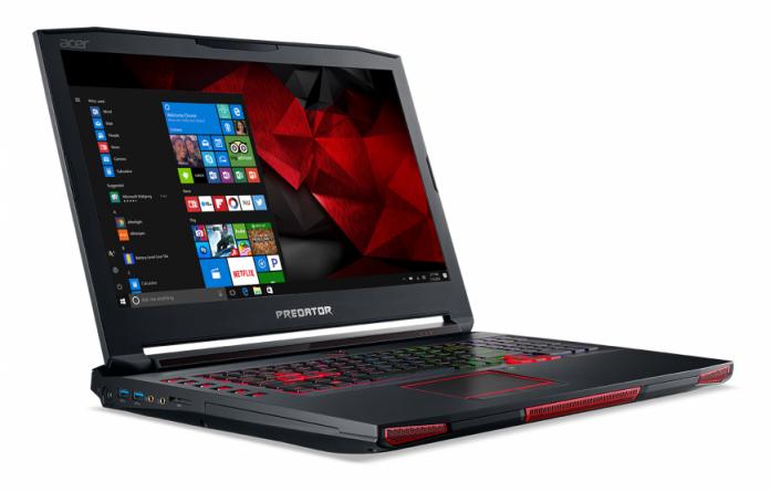 Стартовали российские продажи геймерского ноутбука Acer Predator 17 X