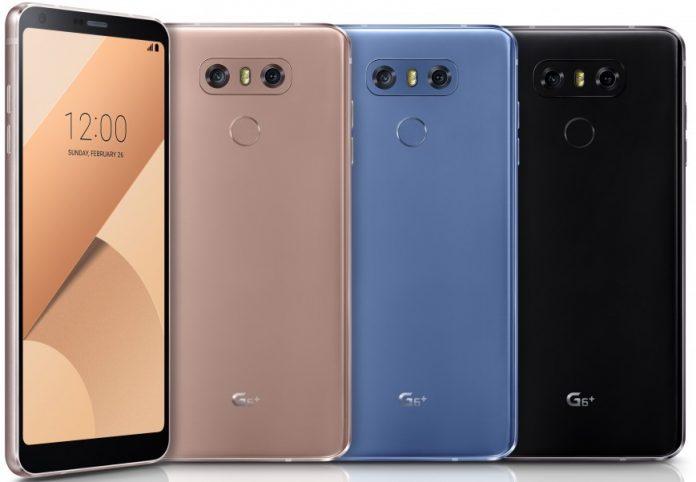 LG представила «прокаченную» версию своего флагманского смартфона LG G6+