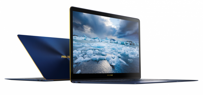 Ультрабук ASUS ZenBook 3 Deluxe поступил в продажу