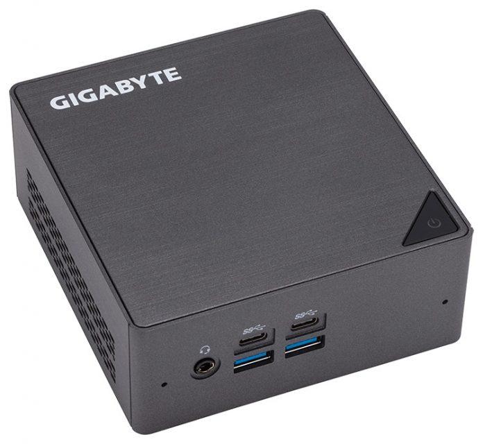 Gigabyte представила парочку новых мини-ПК семейства Brix