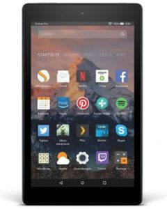 Тест планшета Amazon Fire HD 8 2017