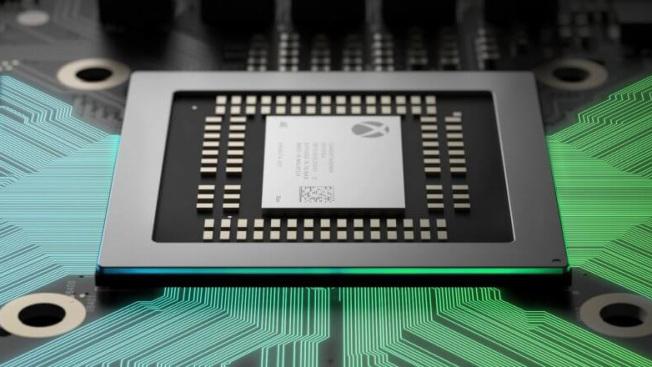 Первый взгляд на игровую консоль Microsoft Xbox One X