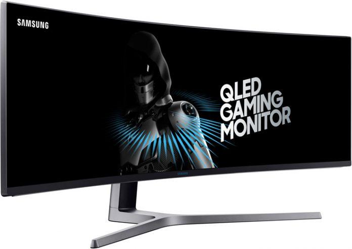 Samsung представила первый в мире монитор диагональю 49 дюймов, с соотношением сторон 32:9