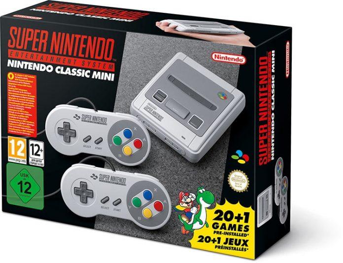 Nintendo выпустит ретро-консоль SNES Mini