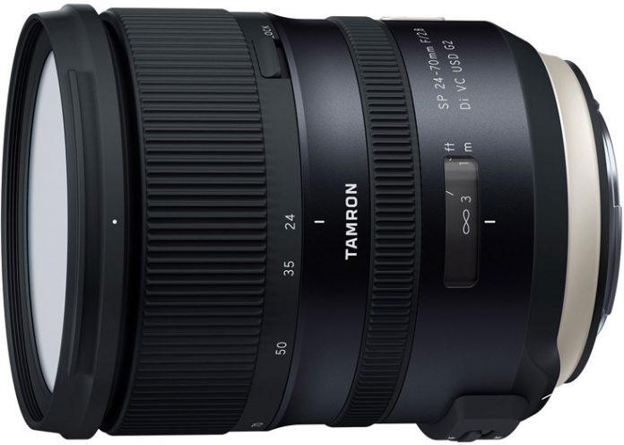 Tamron презентовала объектив SP 24-70mm F/2.8 Di VC USD G2 (A032)