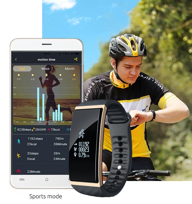 Cubot представила сверхточный фитнес-браслет с шестиосевым акселерометром