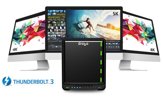 Drobo выпустила внешнее хранилище с интерфейсом Thunderbolt 3