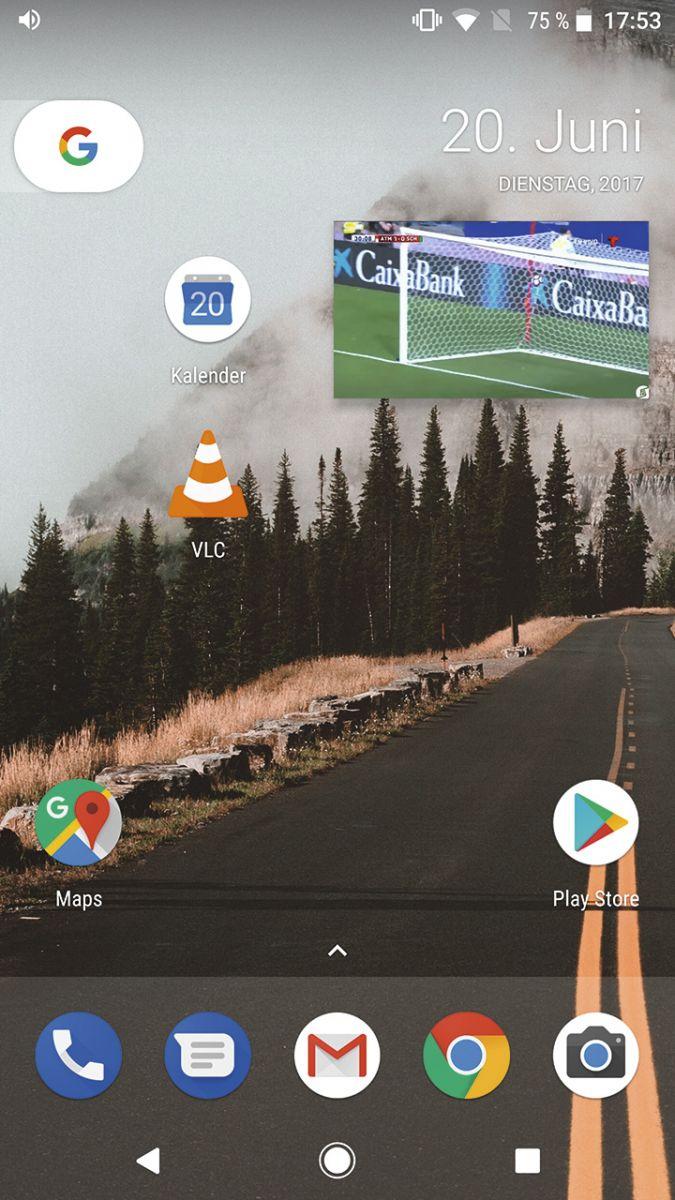 Android 8.0: В Android 8 поддерживается «картинка в картинке». Впрочем, пока функция работает только с несколькими приложениями.
